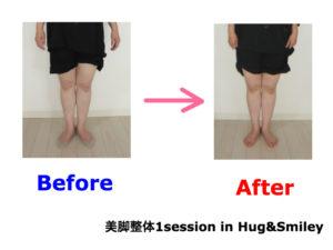 二子玉川のピラティス&小顔・美脚整体 | Hug&Smiley ビフォーアフター13