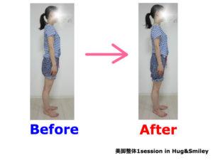 二子玉川のピラティス&小顔・美脚整体 | Hug&Smiley ビフォーアフター18
