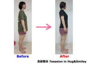 二子玉川のピラティス&小顔・美脚整体 | Hug&Smiley ビフォーアフター19