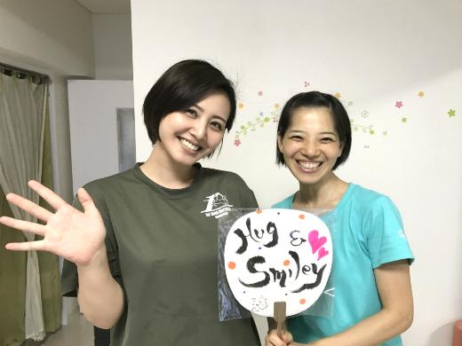 二子玉川のピラティス&小顔・美脚整体 | Hug&Smiley お客様と中山知子