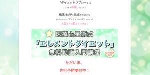 エレメントダイエット,山﨑美由紀,ヤマザキミユキ,やまざきみゆき