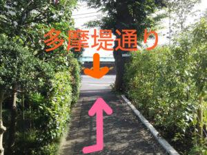 二子玉川のピラティス&小顔・美脚整体   Hug&Smiley 道順13_2